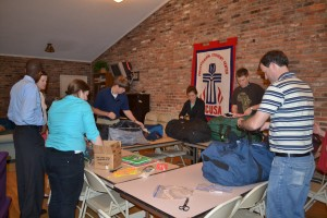 Mwandi Missionaries pack their supplies and make last minute preparations for Africa!